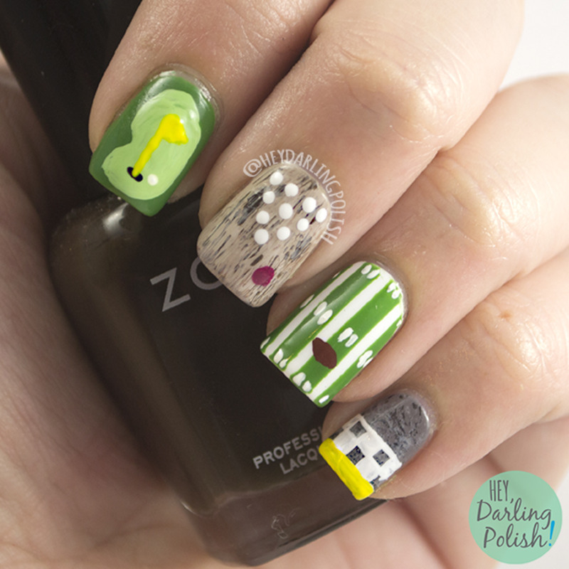 Sports Everything nail art by Marisa  Cavanaugh