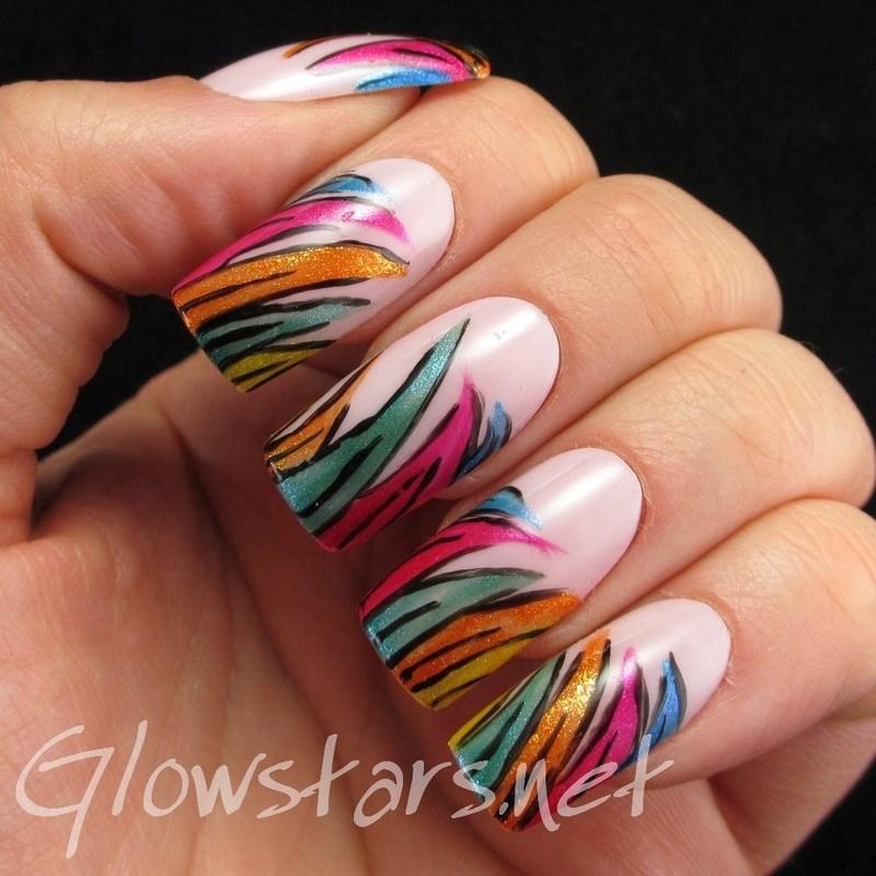 Maybe if I fall asleep, I won't breathe right nail art by Vic 'Glowstars' Pires