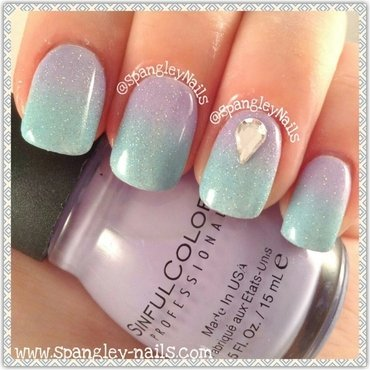 Gradient Nail Art nail art by Nicole Louise