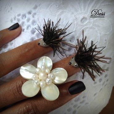 BAD HAIR DAY nail art by Dess_sure