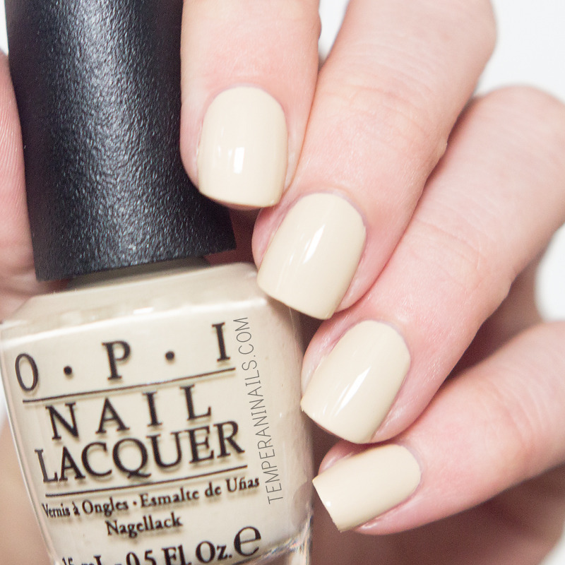 OPI You're So Vain-illa Swatch by Temperani Nails