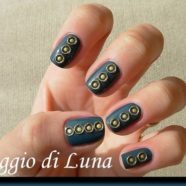 Mini open ring nail art decorations nail art by Tanja