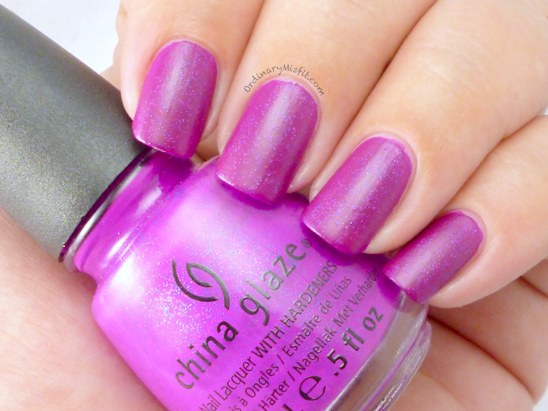 China Glaze Flying Dragon Swatch by Michelle