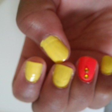 Sally Hansen Mellow Yellow and Charlotte Russe 15766NCOR Swatch by Ahhhhlysia