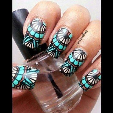 Modern Southwest nail art by pcontreras8nails