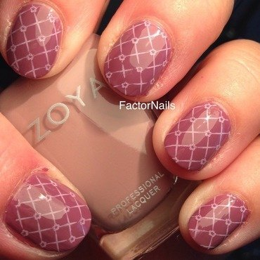 Sweety nail art by Factornails