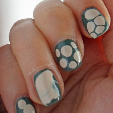 Pebbles! or Weird Dots!  nail art by Emma N.