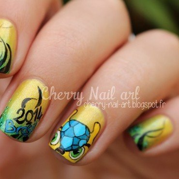Nail art Fuleco  nail art by Cherry Nail art