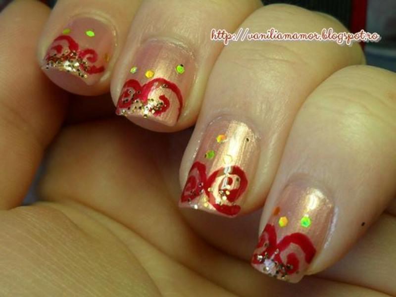 India nail art by Isabella