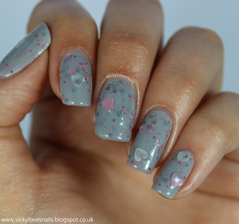 Freckles Polish Just As You Are Swatch by Vicky Standage