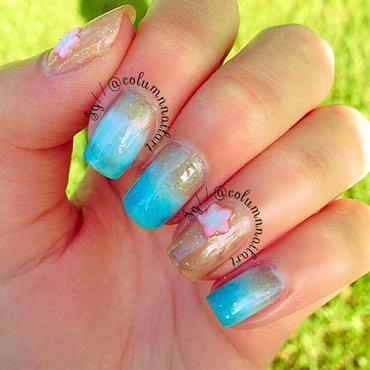 Beach Nail Art nail art by Carly Morgan