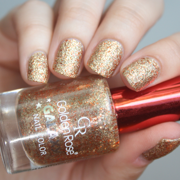 golden rose galaxy # 22 Swatch by Magda