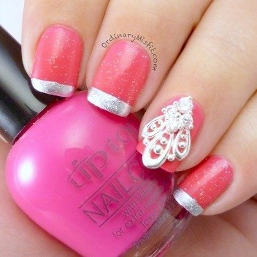 Pink%2520french%2520with%2520nail%2520veil%2520nail%2520art%25203 thumb370f