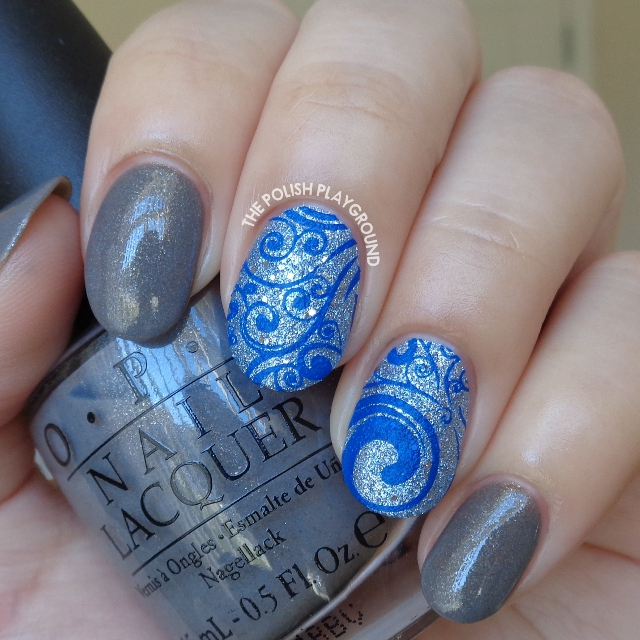 Grey%20with%20blue%20texture%20and%20dark%20blue%20swirls%20stamping%20nail%20art