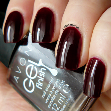 Avon Wine and Dine me Swatch by Ewlyn