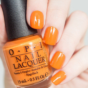 OPI Orange You Stylish! Swatch by Temperani Nails