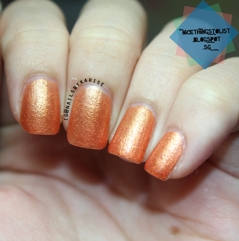 Charlie's Rad Lacquer That Flaming Hair Swatch by Karise Tan