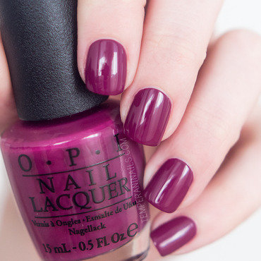 OPI Get Cherried Away Swatch by Temperani Nails