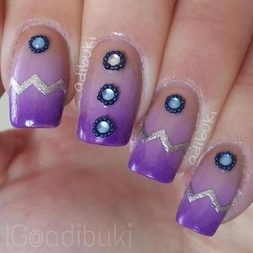 Queen Of The Desert nail art by Adi Buki
