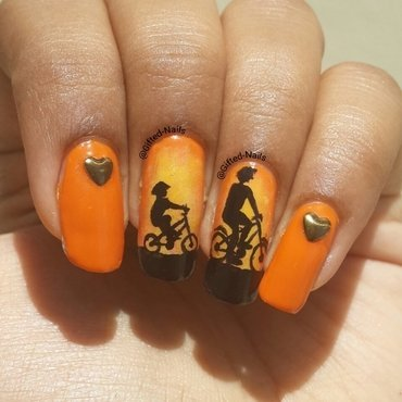 father's day nails nail art by Gifted_nails
