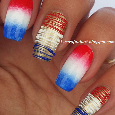 Dutch nails nail art by Margriet Sijperda