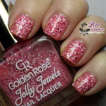 Golden Rose Jolly jewels 109 Swatch by Isabella