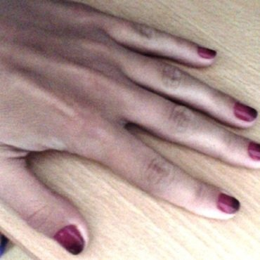 Ombre nails nail art by JellyC
