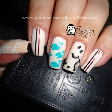 BTS Just One day nail art by Leneha Junsu